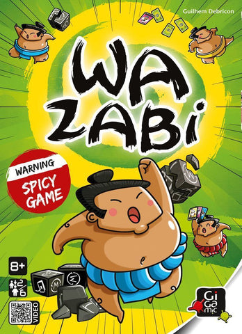 Wazabi - The Spicy Dice Game - The Board Gamer