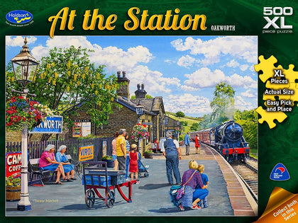 Holdson XL: 500 Piece Puzzle - At The Station S2 (Oakworth)