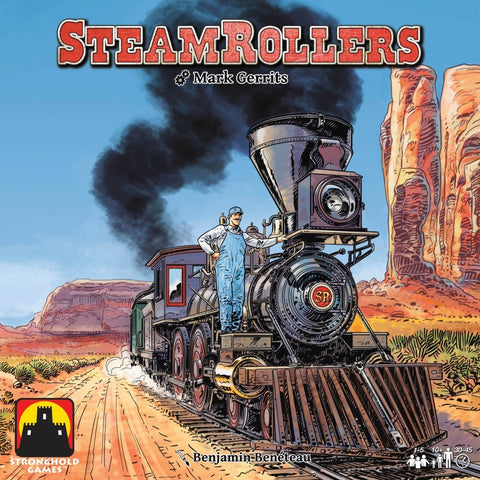 Steamrollers - Board Game - The Board Gamer