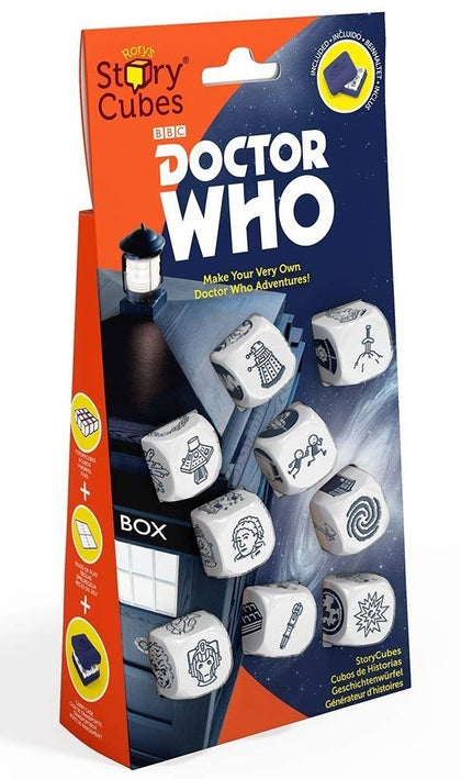 Rorys Story Cubes - Dr Who - The Board Gamer