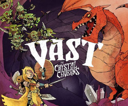 Vast: The Crystal Caverns - Board Game