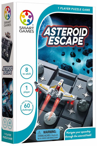 Smart Games: Asteroid Escape - Logic Game