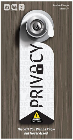 Privacy - Party Game - The Board Gamer