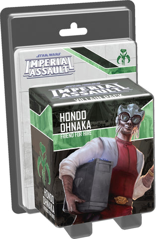 Star Wars: Imperial Assault: Hondo Ohnaka - Villain Pack