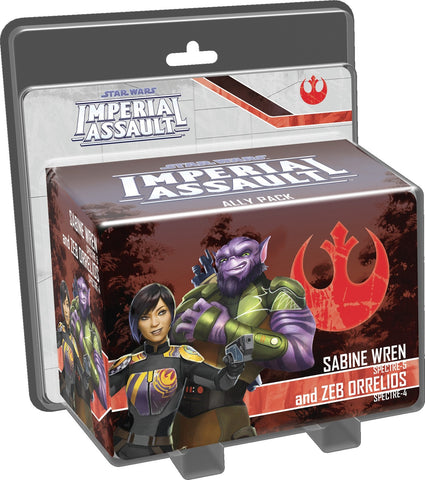 Star Wars: Imperial Assault: Sabine Wren & Zeb Orrelios - Ally Pack - The Board Gamer