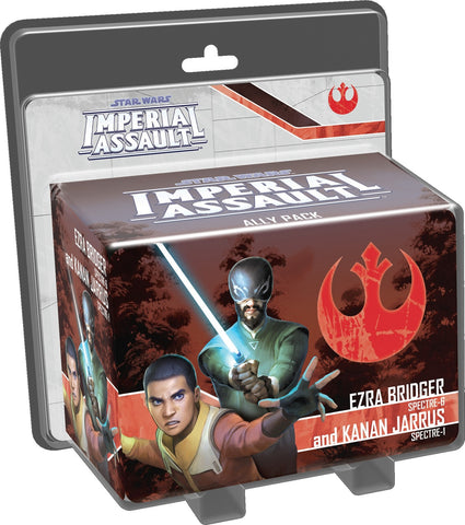 Star Wars: Imperial Assault: Ezra Bridger & Kanan Jarrus - Ally Pack - The Board Gamer