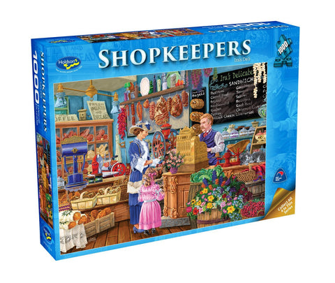 Holdson: Shopkeepers - Ira's Deli (1000pc puzzle)