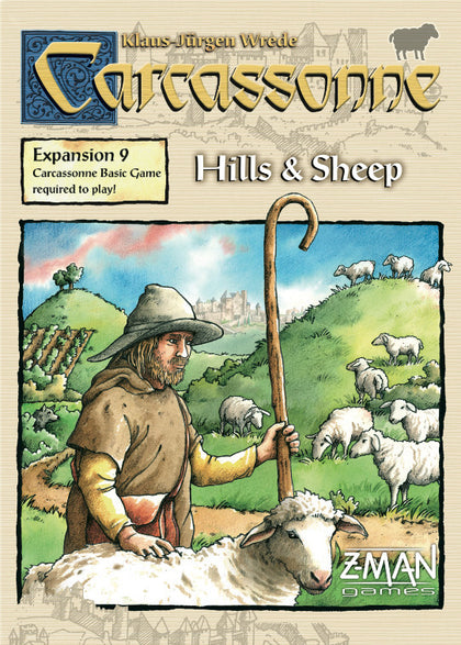Carcassonne: Hills & Sheep - 2nd Edition - The Board Gamer