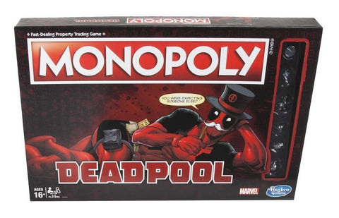 Marvel Deadpool Edition Monopoly Game - The Board Gamer