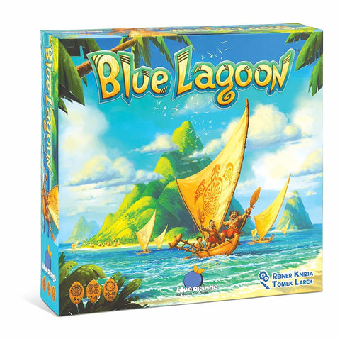Blue Lagoon - Board Game