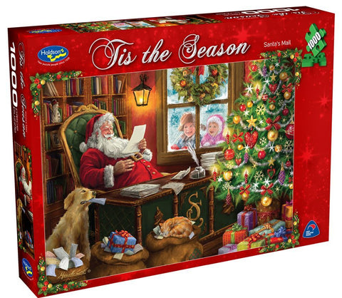 Van Haasteren: Christmas Times Santa's Mail - 1000 Piece Puzzle - The Board Gamer