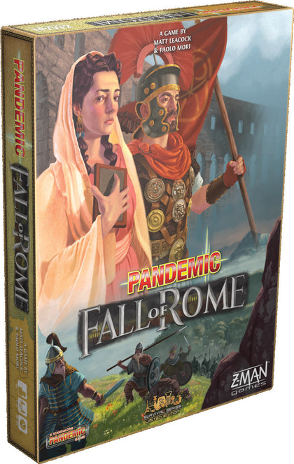 Pandemic - Fall of Rome - The Board Gamer