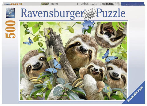 Ravensburger : Sloth Selfie Puzzle 500pc - The Board Gamer