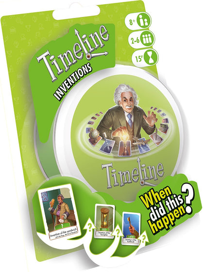 Timeline: Inventions - Peg Edition - The Board Gamer