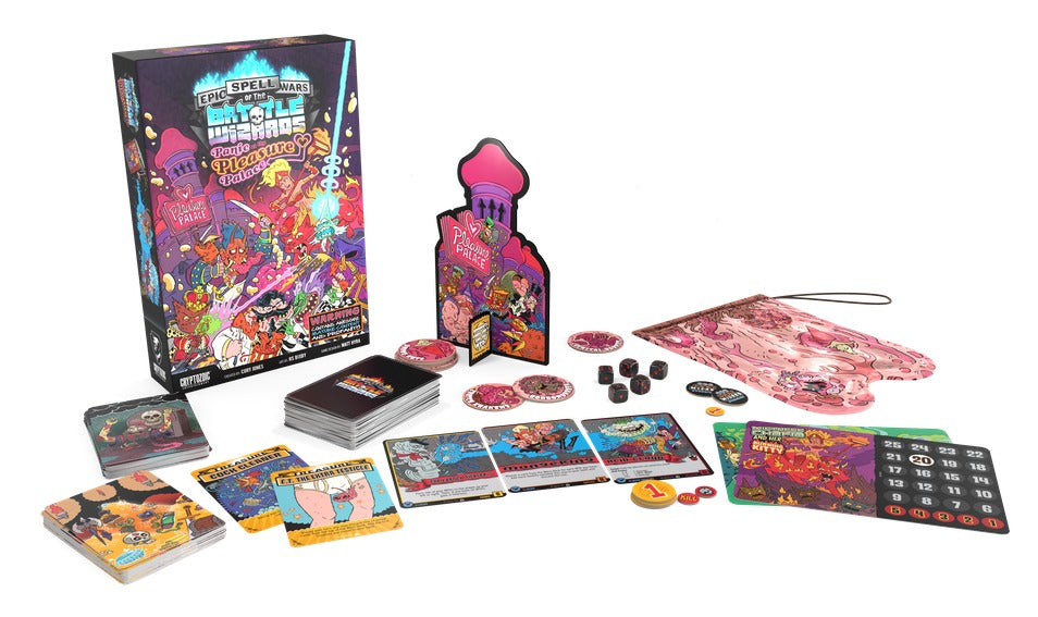 Epic Spell Wars 4 - Panic At Pleasure Palace
