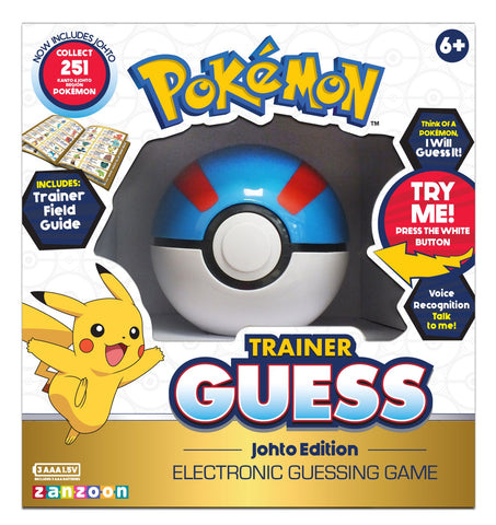 Pokemon: Guess Game - Johto Edition