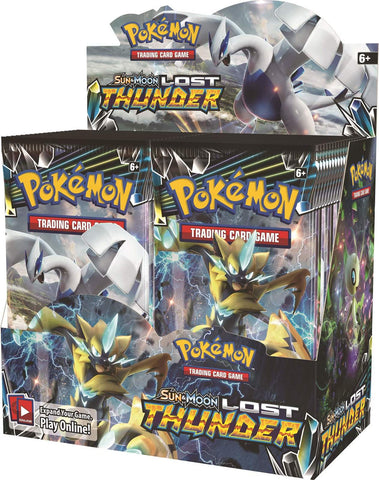 Pokemon TCG: Lost Thunder - Booster Box (36 Packs) - The Board Gamer