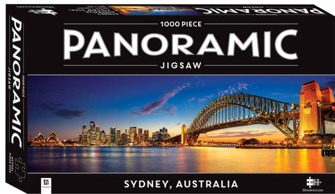 Hinkler: Panmoramic 1000-Piece Jigsaws - Sydney Australia - The Board Gamer