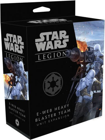 Star Wars Legion: E-Web Heavy Blaster Team Unit Expansion - The Board Gamer