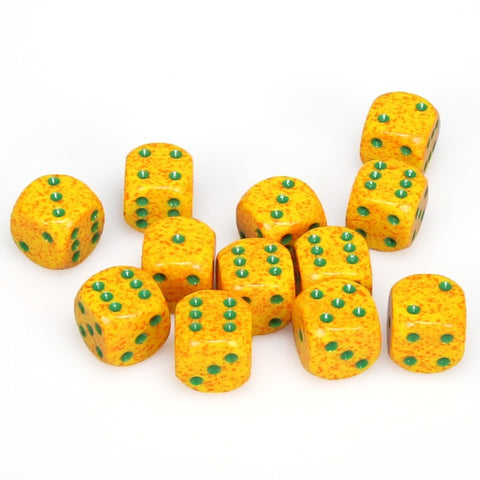 Chessex: D6 16mm Speckled Dice - Lotus