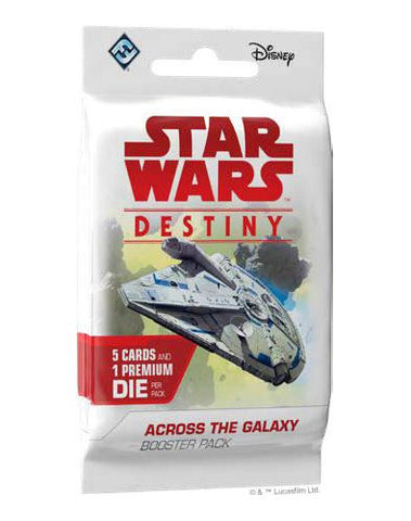 Star Wars Destiny: Across the Galaxy Single Booster - The Board Gamer