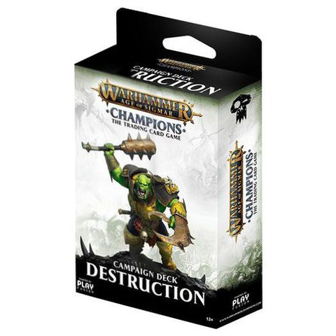 Warhammer TCG Age of Sigmar Champions: Campaign Deck Destruction