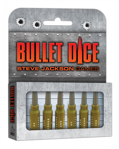 Bullet Dice - Speciality Dice Set (6-Pack) - The Board Gamer