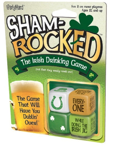 iPartyHard: Shamrocked - Dice Game - The Board Gamer