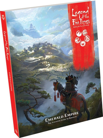 Legend of the Five Rings Roleplaying Game - Emerald Empire - The Board Gamer