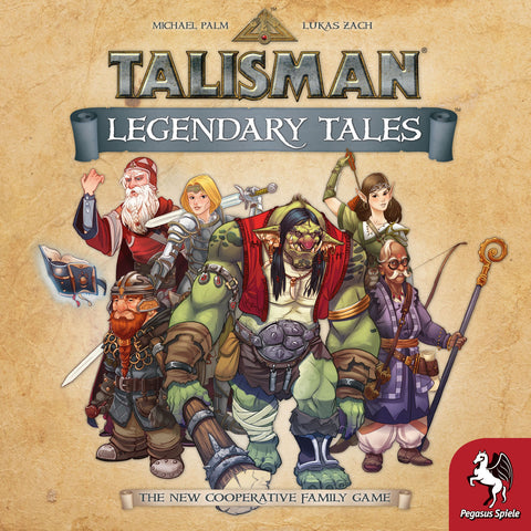 Talisman: Legendary Tales - Board Game