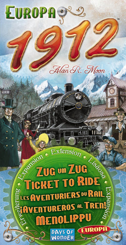 Ticket to Ride: Europa 1912 - Expansion - The Board Gamer