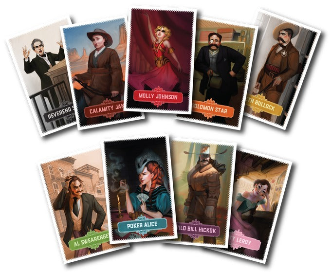 Deadwood 1876 - Board Game