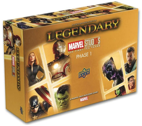 Legendary: 10th Anniversary Edition - Deck Building Game - The Board Gamer