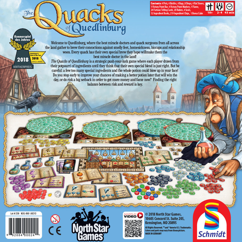 The Quacks of Quedlinburg - Board Game