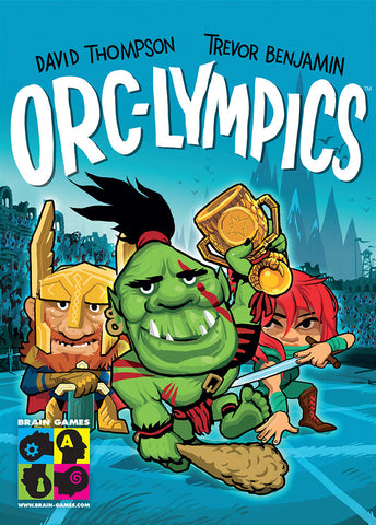 Orc-lympics - Card Game