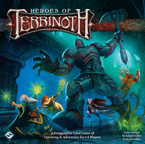 Heroes of Terrinoth - Card Game