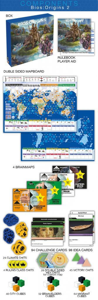 Bios: Origins - 2nd Edition Board Game