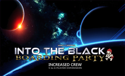 Into the Black: Increased Crew - Game Expansion - The Board Gamer