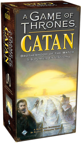 Catan: Game of Thrones - Brotherhood of the Watch Expansion