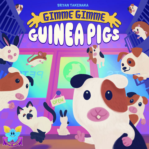 Gimme Gimme Guinea Pigs - Card Game