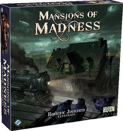 Mansions of Madness: Horrific Journeys - Expansion - The Board Gamer