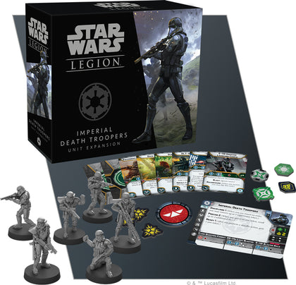 Star Wars Legion: Imperial Death Troopers Unit Expansion - The Board Gamer