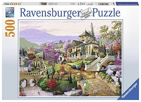 Ravensburger : Hillside Retreat Puzzle 500pc