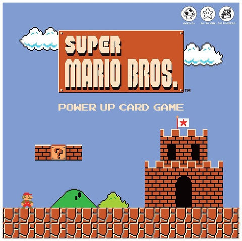 Super Mario Bros: Power Up - Card Game - The Board Gamer