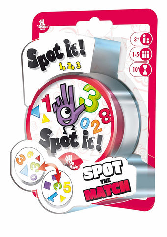 Spot It: 123 - Card Game - The Board Gamer