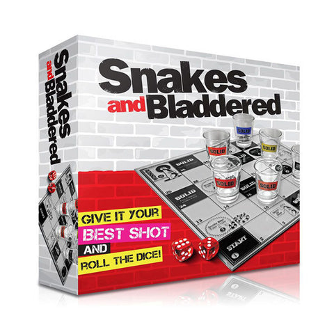 Snakes and Bladdered - Drinking Game