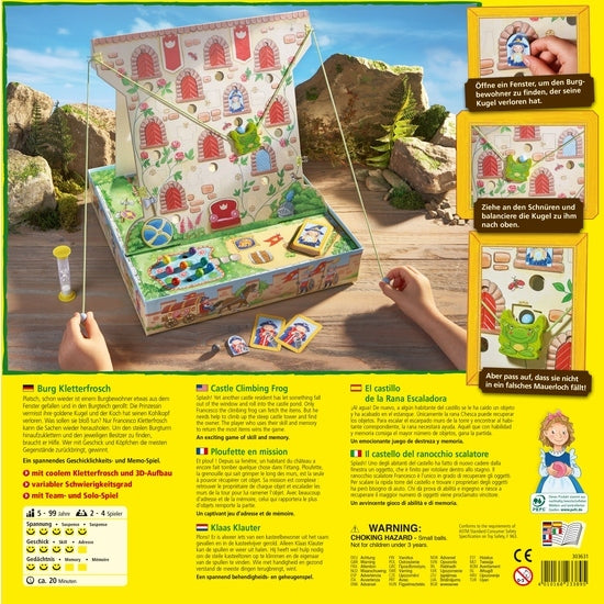 Climbing Frog Castle - Children's Game