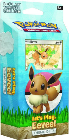 Pokemon TCG: Let's Play Theme Deck (Eevee)