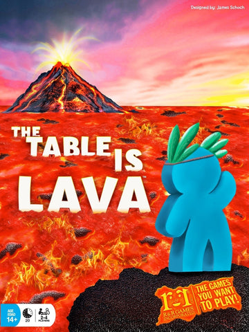 The Table Is Lava - Card Game