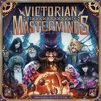 Victorian Masterminds - Board Game